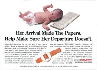 baby security ad