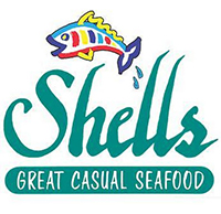 shells great casual food logo